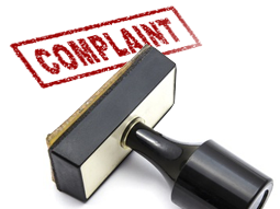 Complaint-rubber-stamp